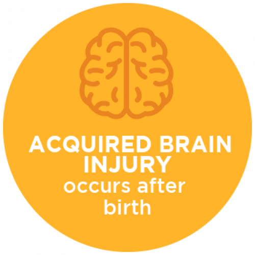 Acquired Brain Injury Occurs After Birth