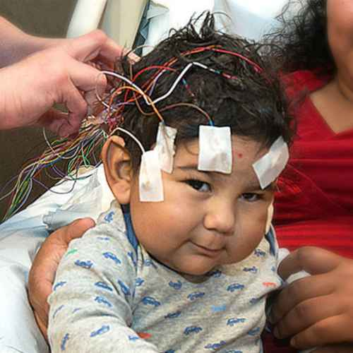 gillette patient Mateo during EEG study