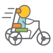 Adaptive bike emoji