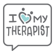 I heart my therapist emoji