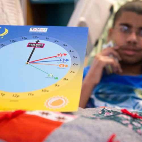 Gillette TyMed clock nursing research initiative