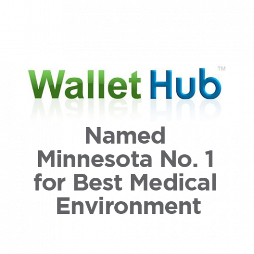 WalletHub Named Minnesota No. 1 for Best Medical Environment