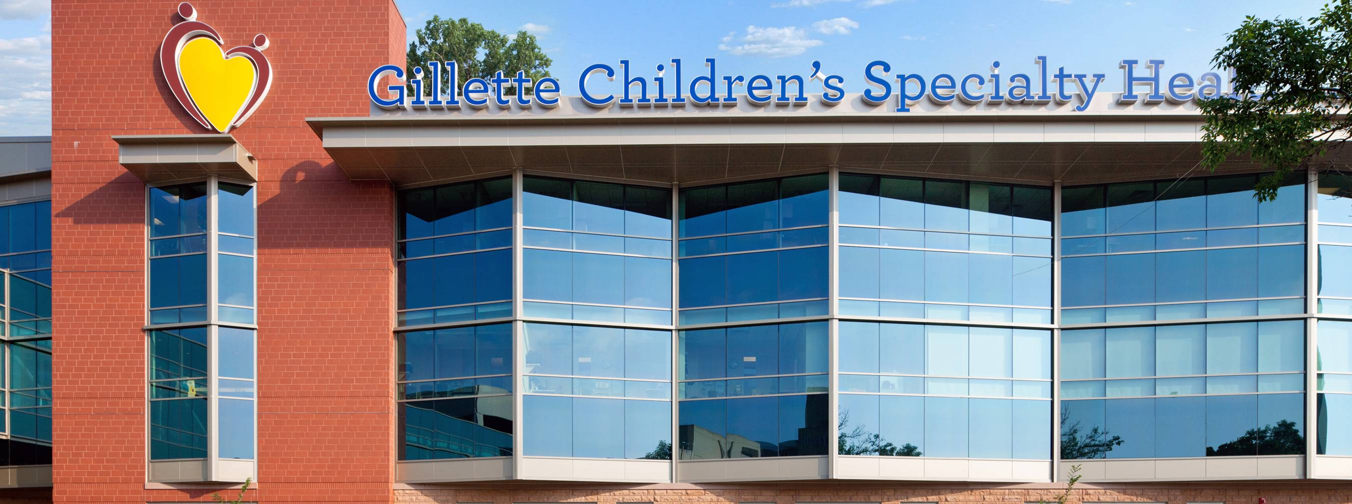 St. Paul Campus Gillette Children's building exterior