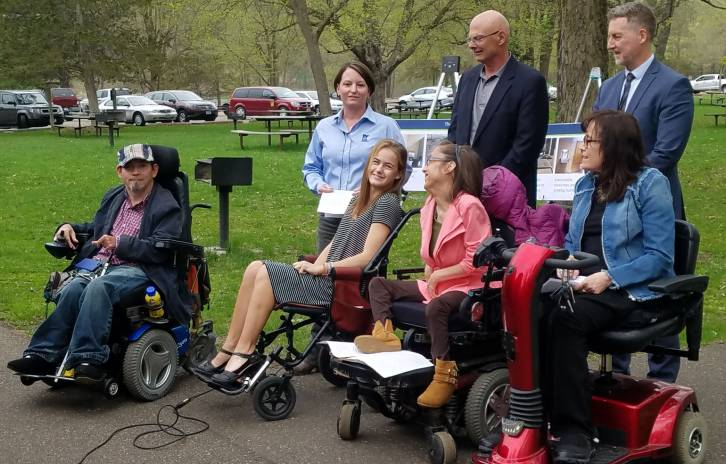 Gillette patients gather in support of state park legislation