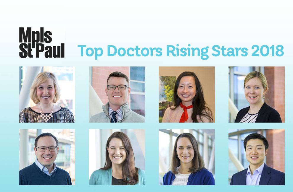 top docs, rising stars 2018