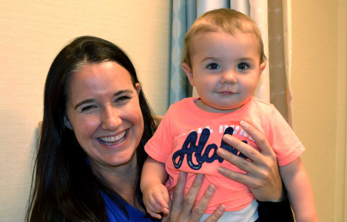Gillette patient Camdyn during doctor visit with Alison Schiffern, MD