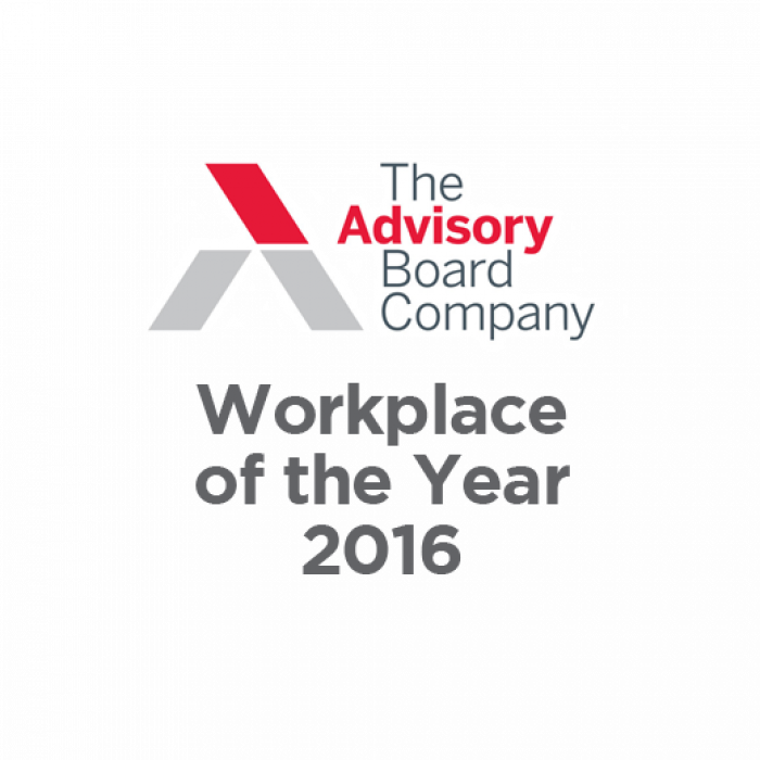 The Advisory Board Company Workplace of the Year 2016