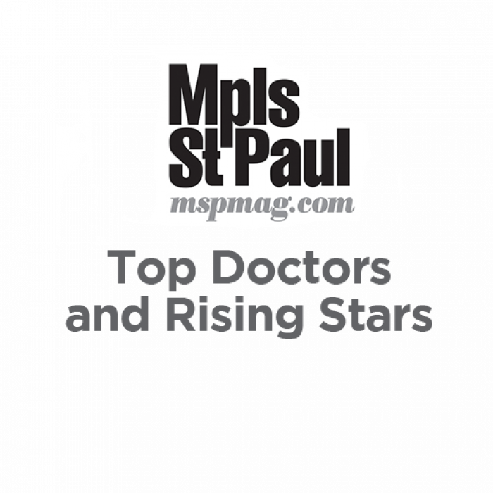Mpls St Paul Magazine Top Doctors and Rising Stars