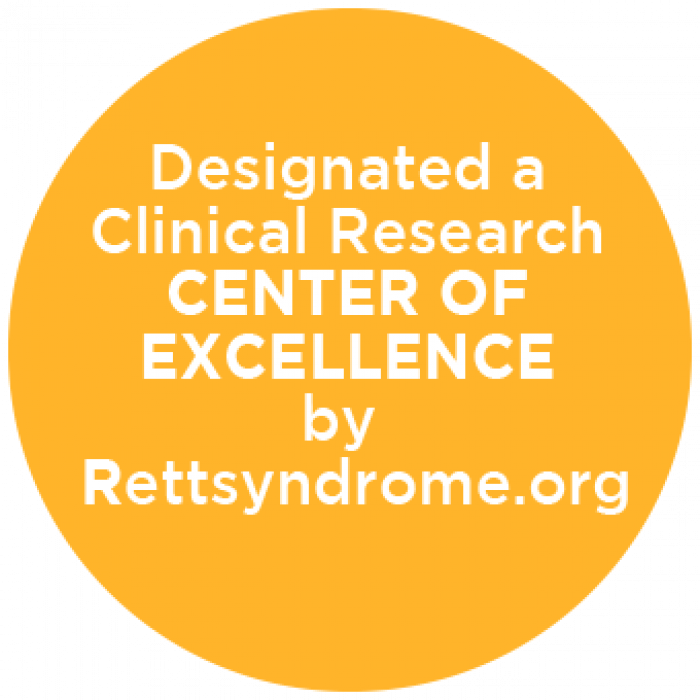 Designated a Center of Excellence by Rettsyndrome.org.