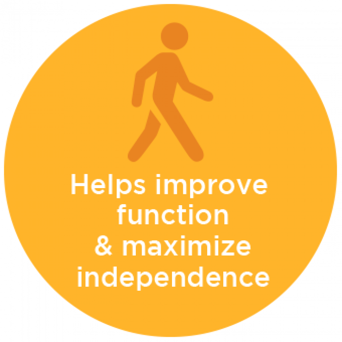 Helps Improve Function and Maximize Independence