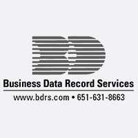 Business data record services logo
