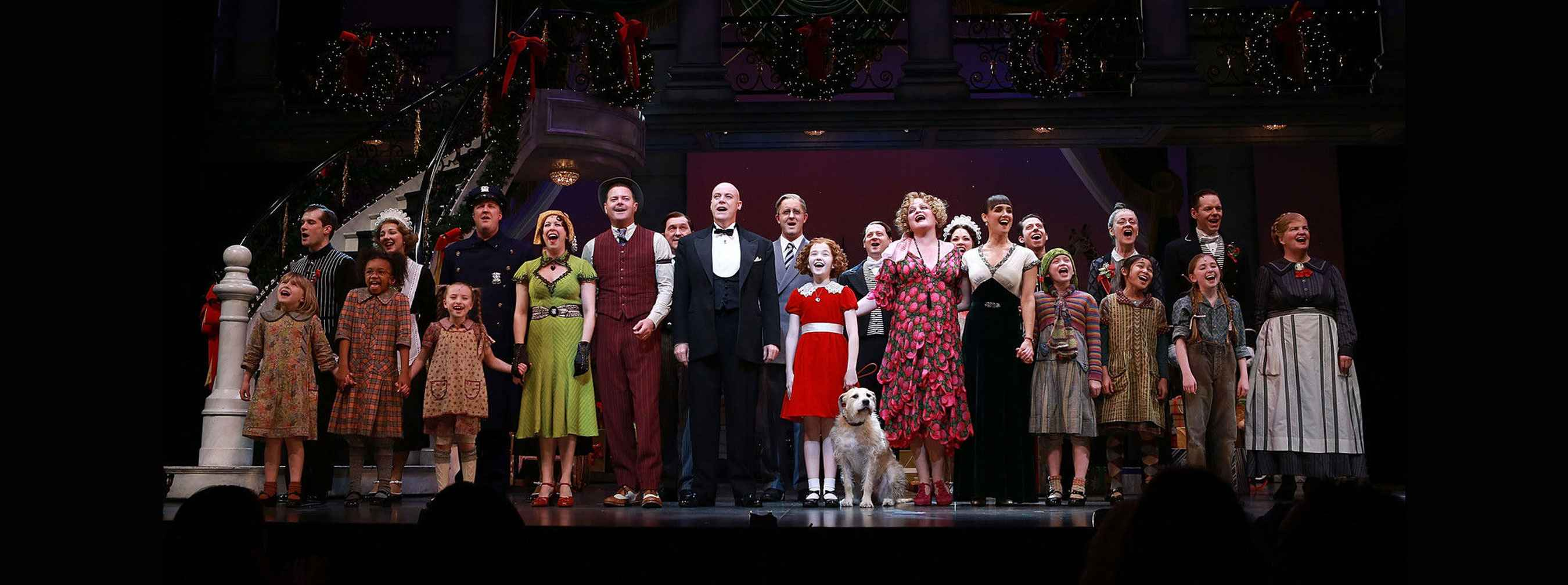 Cast of Annie at the Ordway Center for Performing Arts, Friends of Gillette gala
