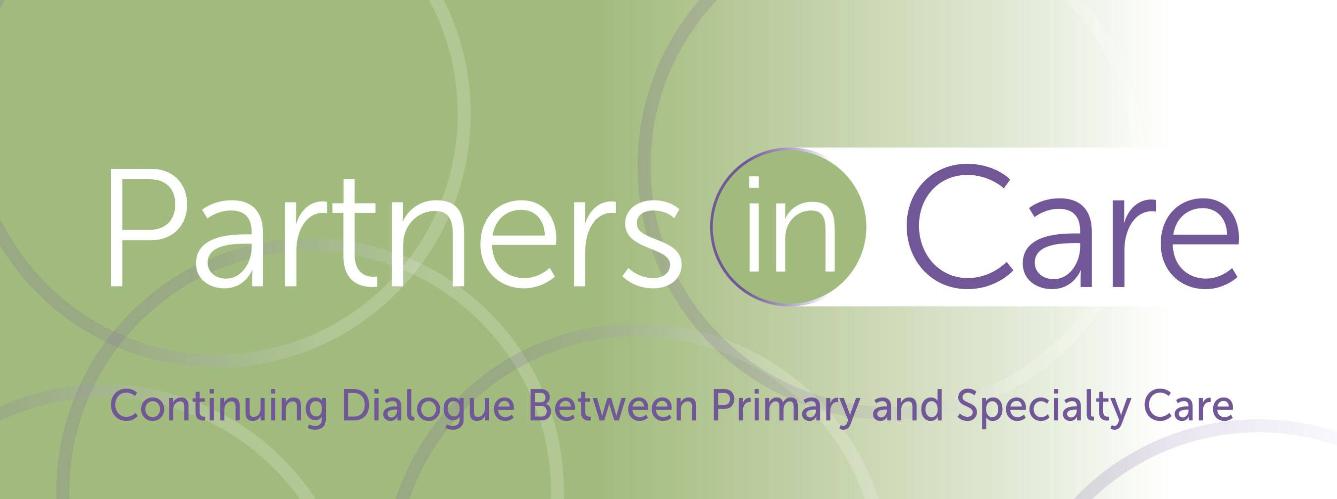 Partners in Care webinar series logo