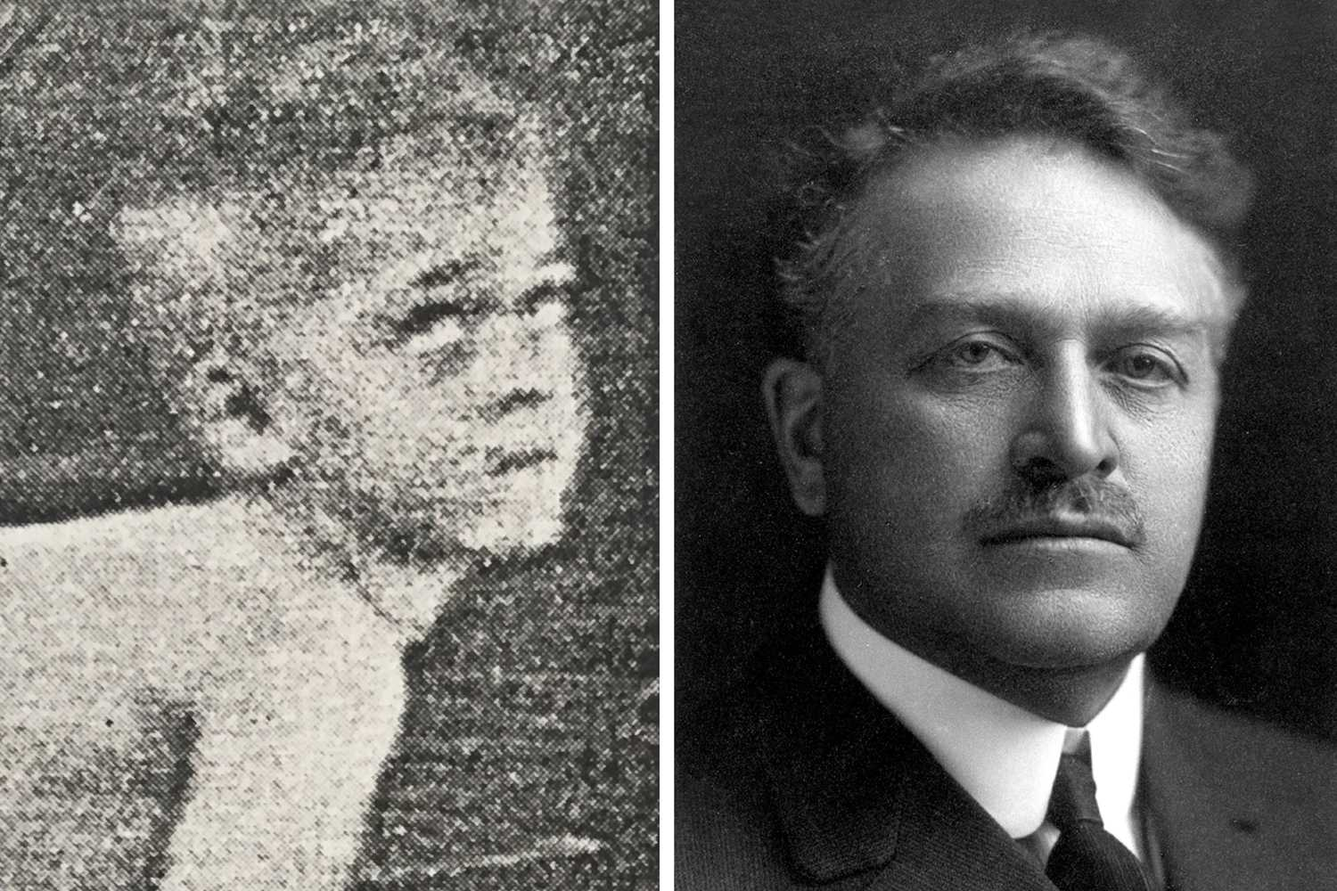 photo of royal gray and arthur gillette
