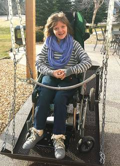 Most people who have Rett syndrome are female, like Jill.