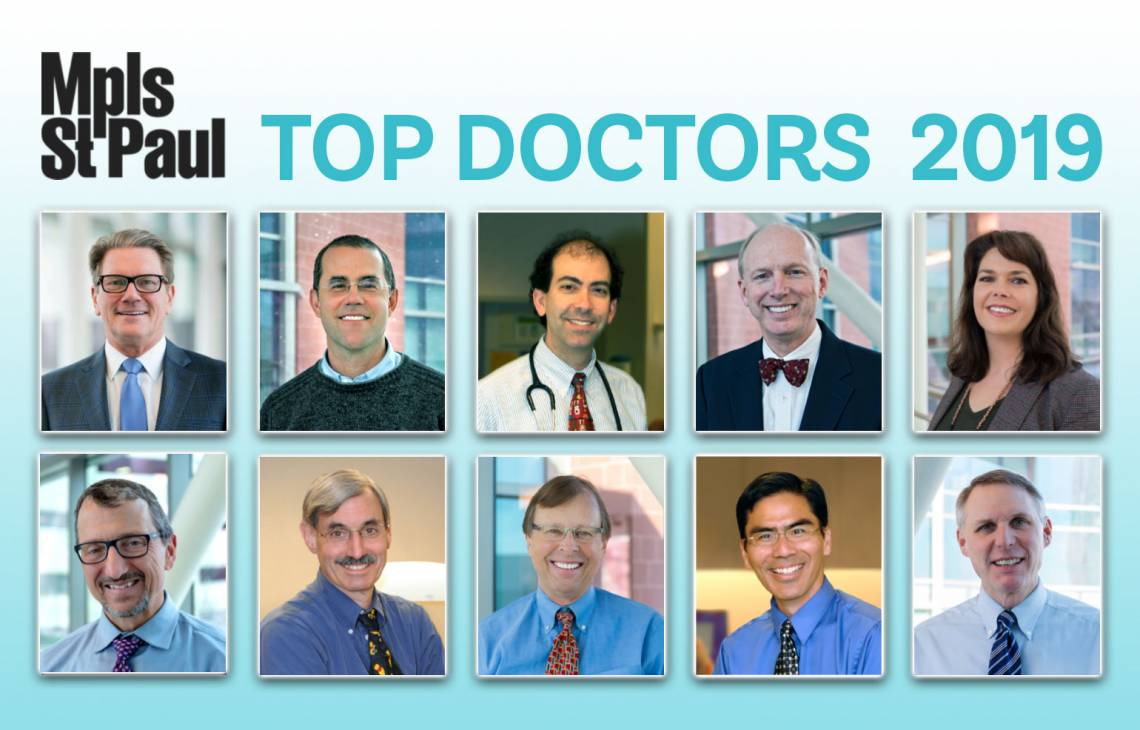 our 2019 top docs!