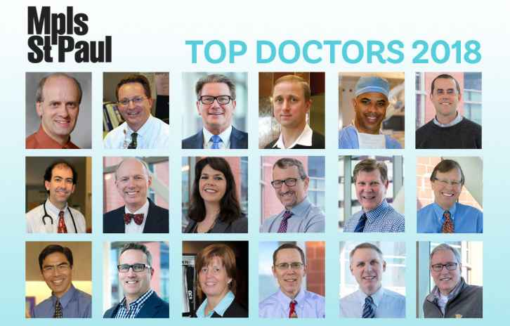 Minneapolis St. paul top docs from Gillette in 2018