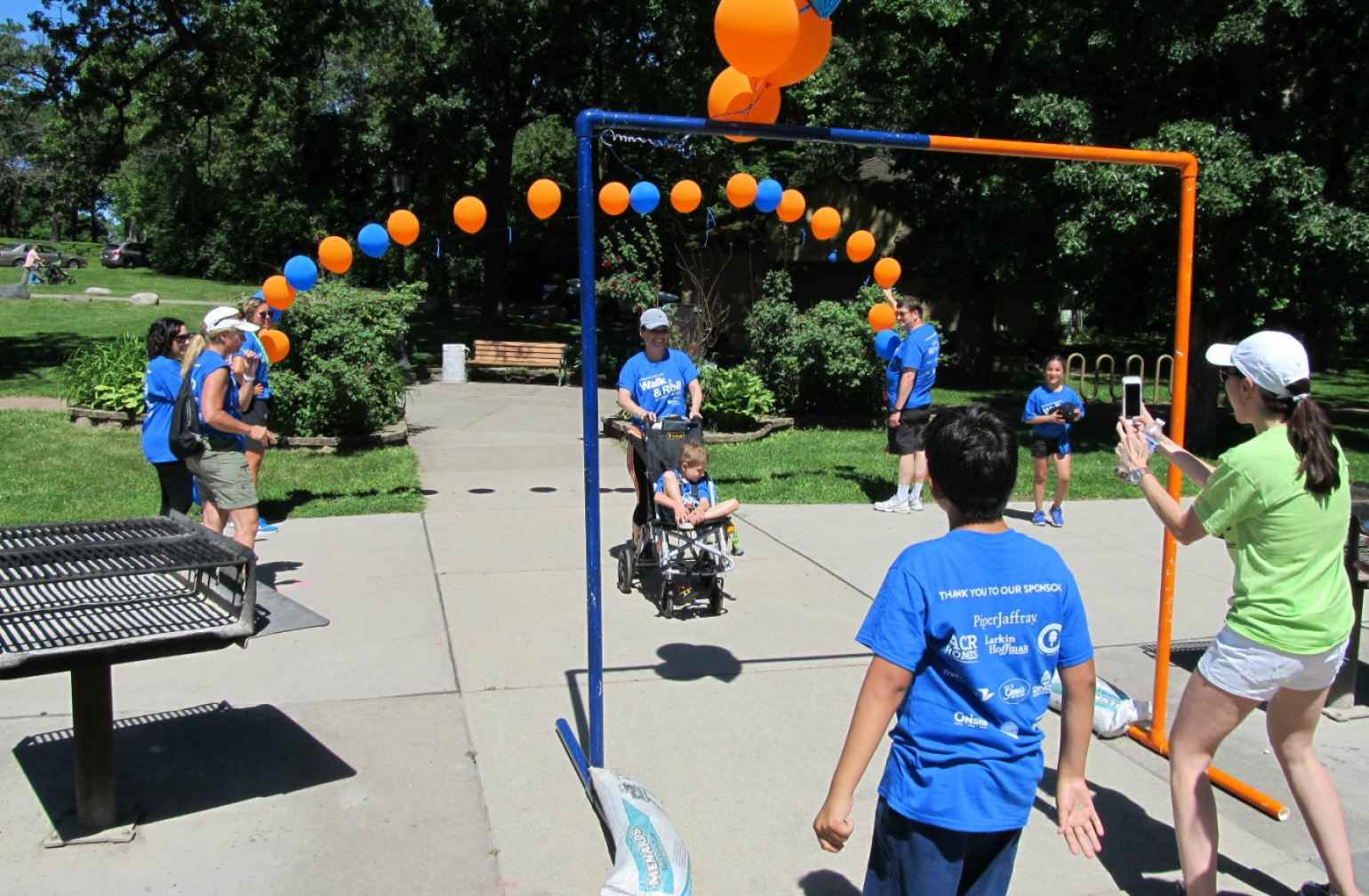 Gillette walk n' roller pushes patient through to finish line