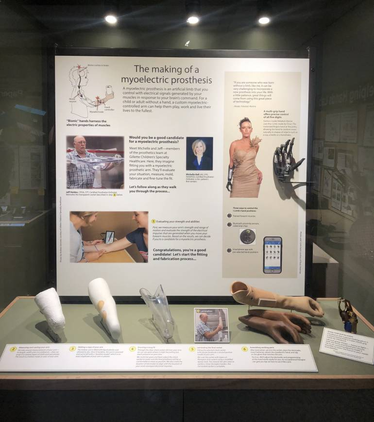 Helping Hands Lab exhibit at the Bakken Museum in Minneapolis