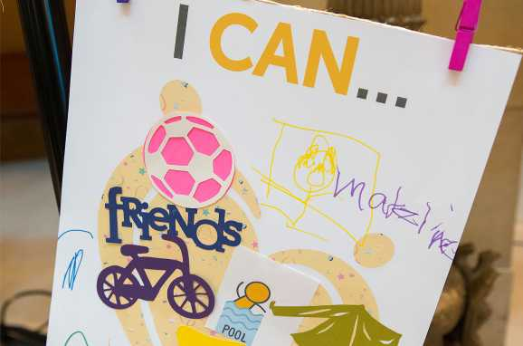 I CAN artwork by patients at Capitol Day