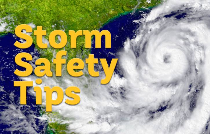 Storm Safety Tips, Gillette children's