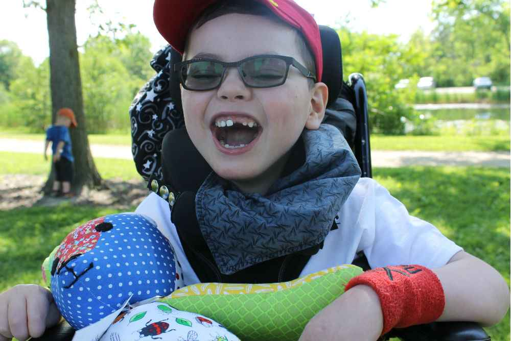 Gillette patient everett enjoys spending time outdoors