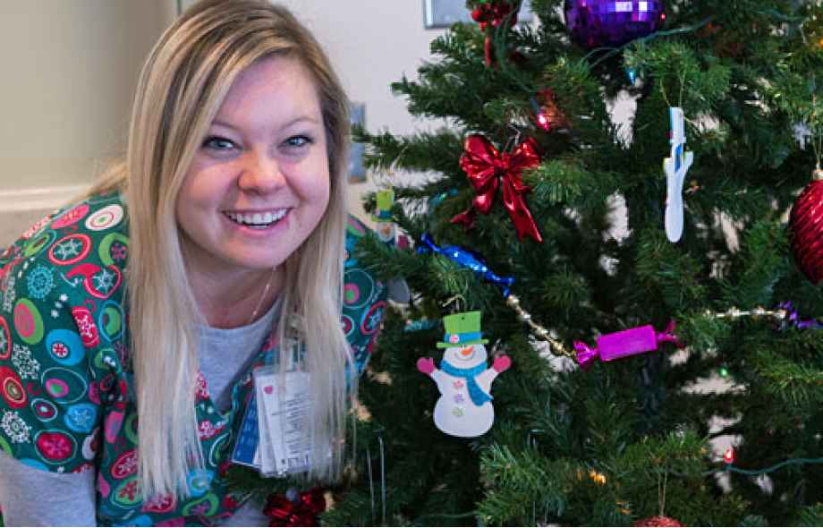 Meet Emily Syverson, RN, and learn why she loves working during the holidays.