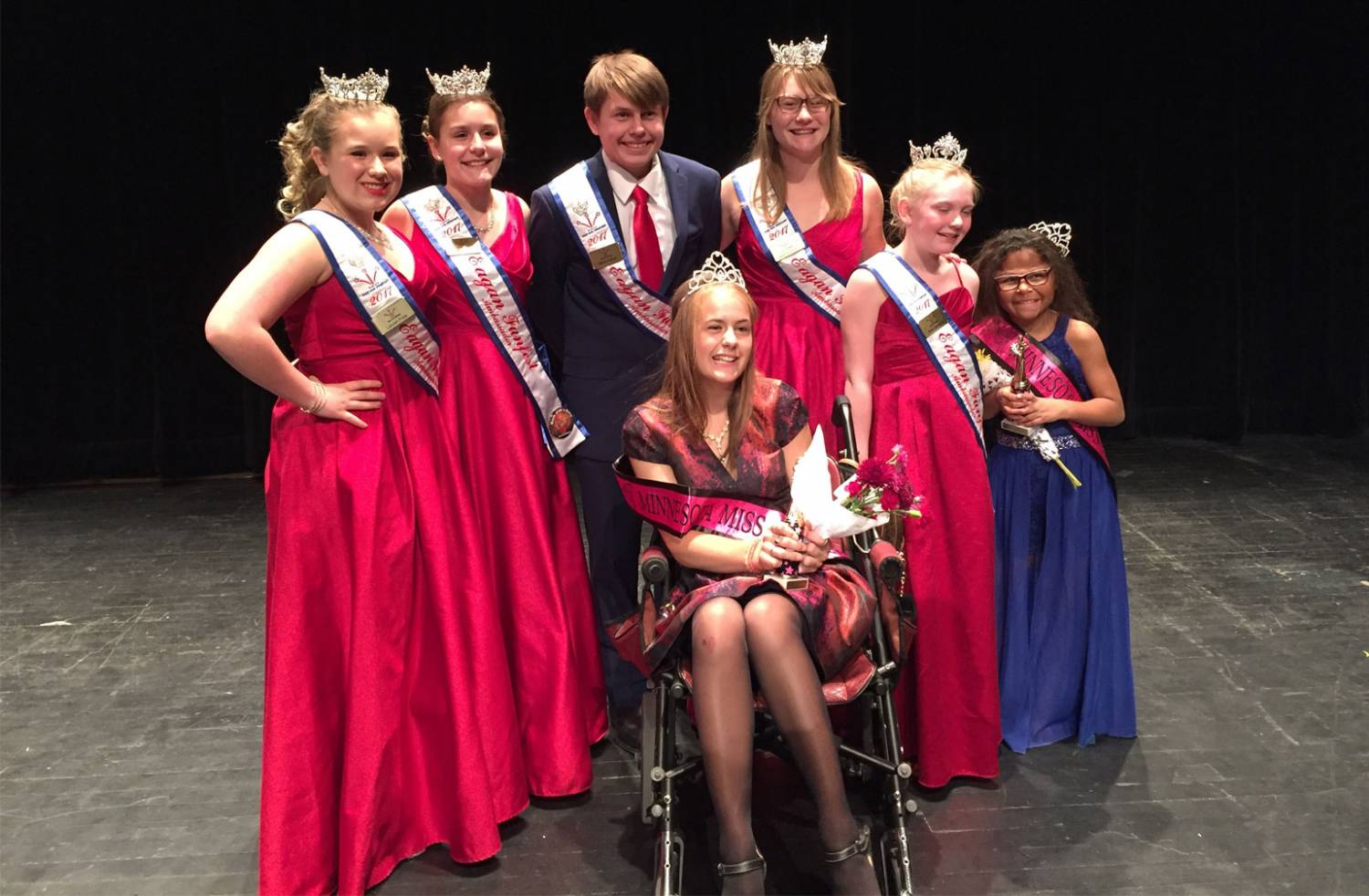Katie Allee at the Miss Amazing Pageant