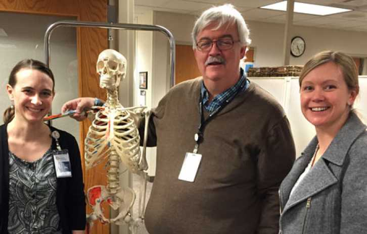 Angela Sinner, Michael Partington and Jennifer Laine are physicians on Gillette's spasticity evaluation team.