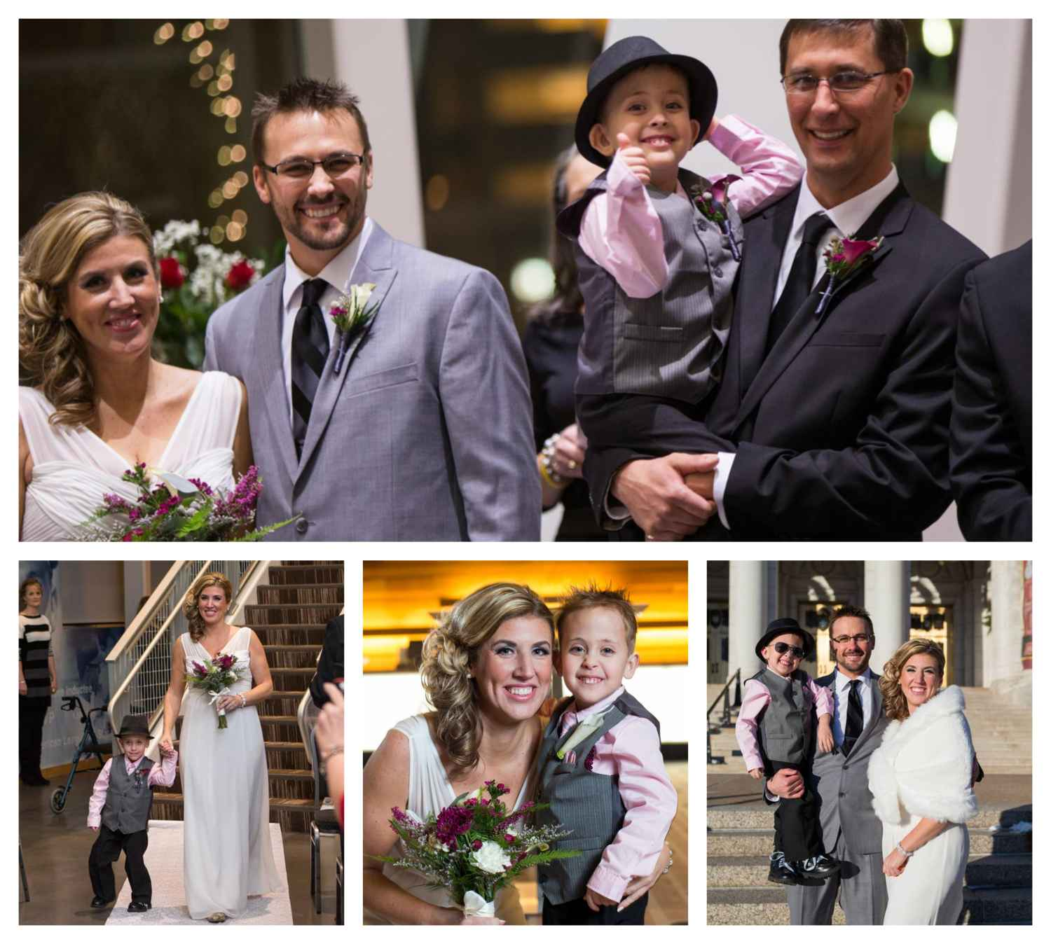 Bennett Family Wedding Collage