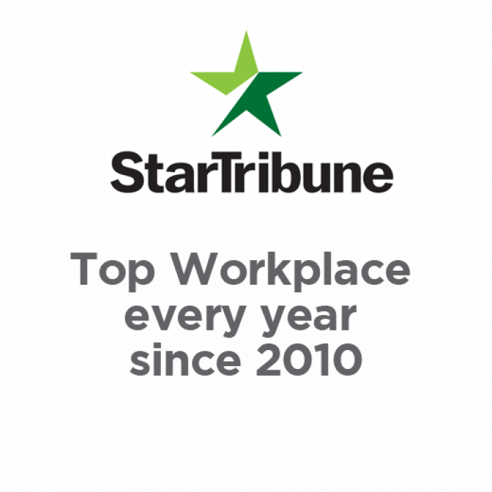 star tribune top workplace every year since 2010
