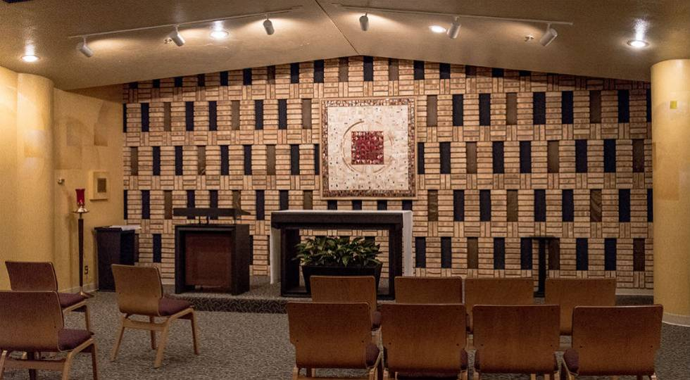 Chapel at Regions hospital shared with Gillette Children's Specialty Healthcare