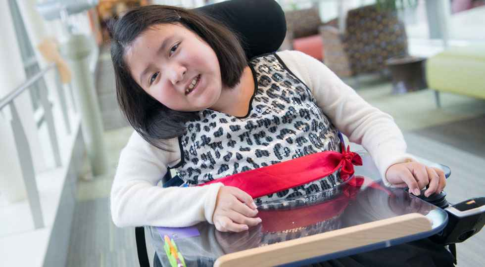 Neuromuscular disorder Gillette patient Kiara and Keisy