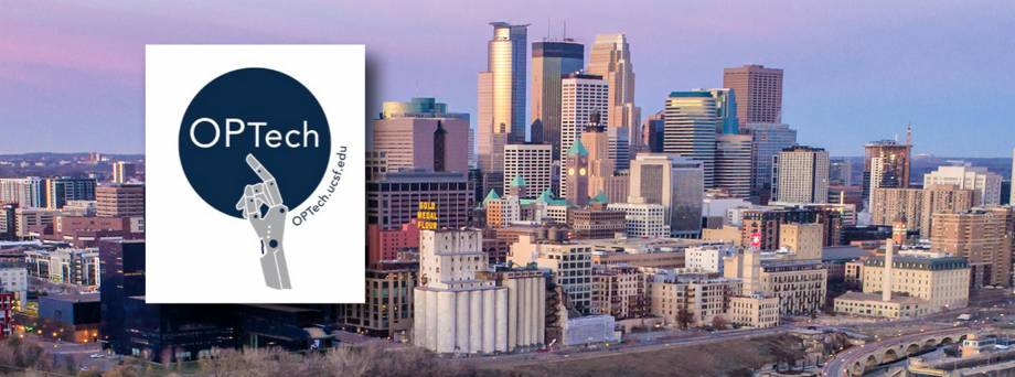OPTech Conference 2022 and Minneapolis Skyline