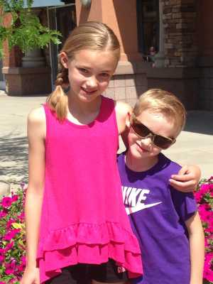 Jonathan (right) was diagnosed with hydrocephalus when he was six months old