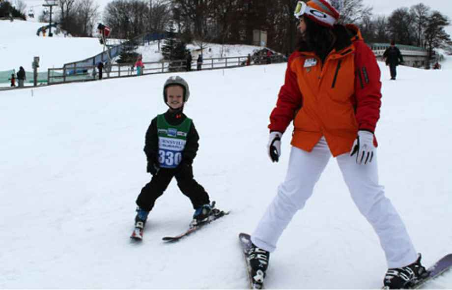 Gillette patients enjoy adaptive skiing