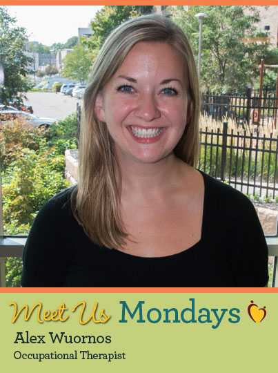 Alex Wuornos, Meet Us Monday, Occupational Therapist at Gillette Children's Specialty Healthcare