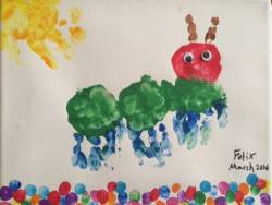 Artwork found in Felix's room at Gillette children's PICU