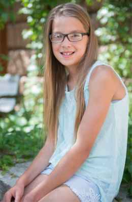 Ava, an active 10-year-old who has hemiplegic cerebral palsy, enjoys camping, sports and reading.