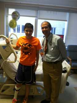 Brianna with Dr. Gormley, Gillette Children's Specialty Healthcare