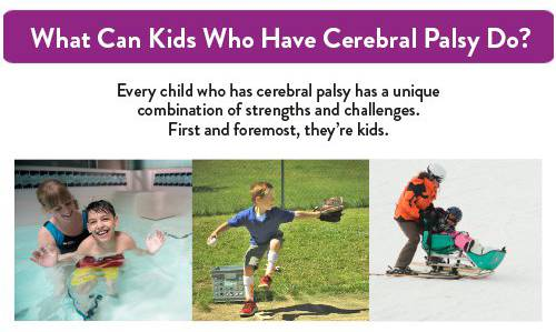 infographic - what can kids who have cerebral palsy do?