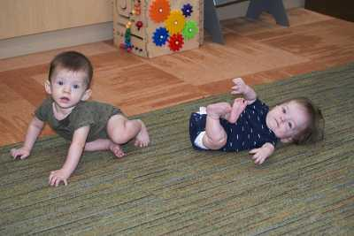 Dalen, who has dwarfism, and his brother Christian