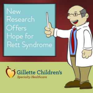 New Research offer hope for Rett Syndrome.