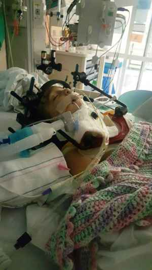 Havana Bodell recovers after being involved in a drinking and driving crash