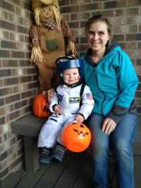 Heather Haigh and her son, Jackson