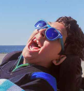 Javier, 11, receives care at Gillette Children's Specialty Healthcare for cerebral palsy, epilepsy and scoliosis.