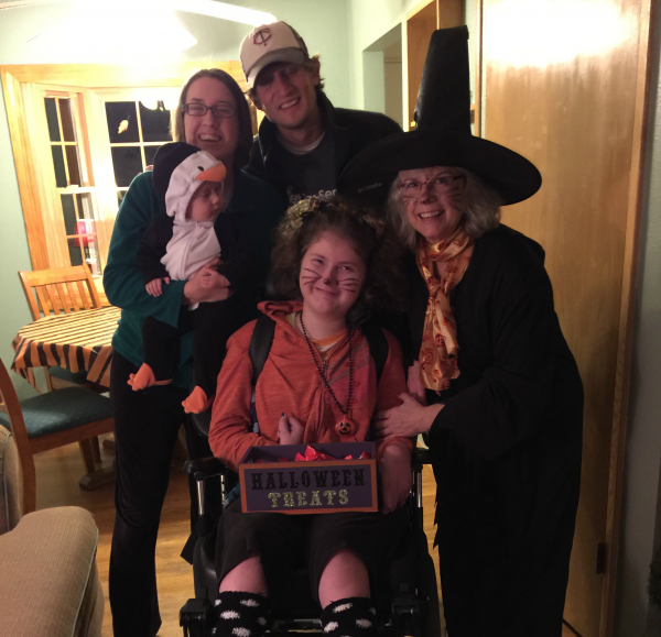 Halloween with the Nickelsen Family