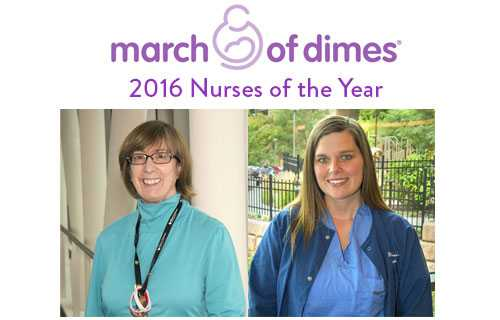 March of Dimes Nurse of the Year 2016 Award Winners at Gillette Children's Specialty Healthcare