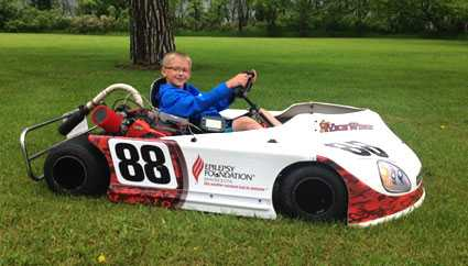 Nick Winge was diagnosed with epilepsy at age 6.