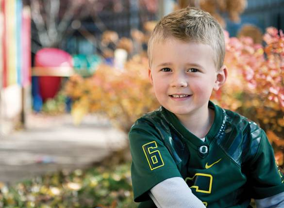 Today, 4-year-old Peyton has fully recovered from his traumatic brain injury.